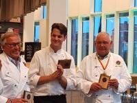 Här har vi 2018 års vinnare- Pelle, Jonas och Mats